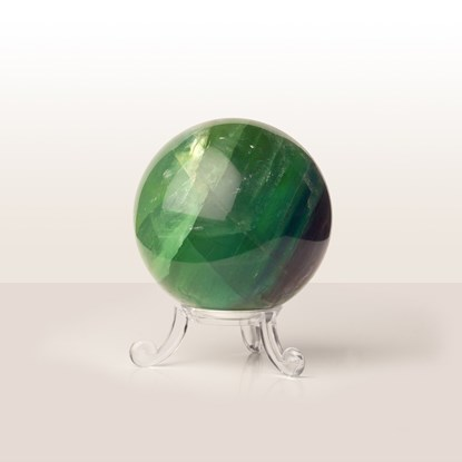 fluorite crystal ball