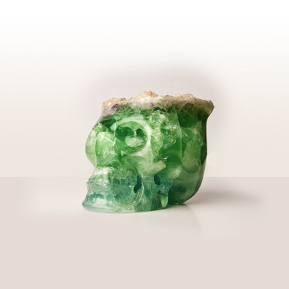 Picture of Fluorite Skull